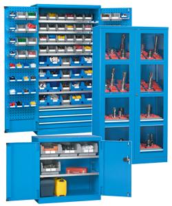 Werkzeugschränke und Werkstatt