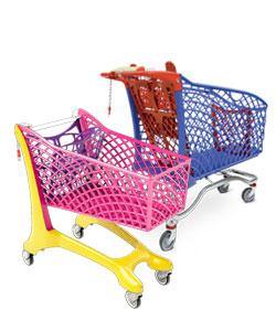 Einkaufswagen Supermarkt