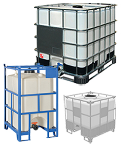 IBC Container und Plastiktanks