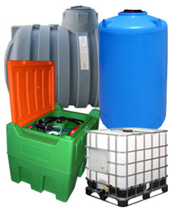 Kunststofftanks, zisternen und IBC Behälter