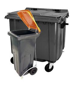 Mülltonne, Müllcontainer, Restmülltonne, Mülleimer
