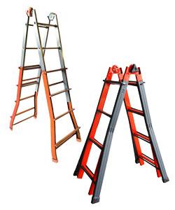 Treppenleitern aus Stahl
