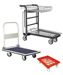 Plattform Wagen und Transportroller