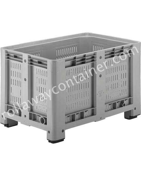 Durchbrochene Paloxen Kunststoff 1200 x 800 H 760 ab 470 Liter