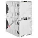 Zubehör und Ersatzteile für Thermobehälter mit Kühlaggregat Rückseite 140 Liter