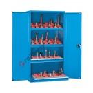Werkstatt Schrank aus Metall 1023x555 H 2000 mm 2 Türen