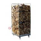 Holzspeicher von Stahl
