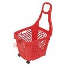 Einkaufskorb mit Rollen aus Kunststoff 66 Liter