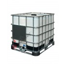 IBC Tank 1000 liter ADR für lebensmittel mit Kunststoff und Metallpaletten
