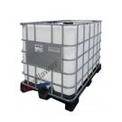 IBC Tank 1000 liter für lebensmittel mit Kunststoffpalette