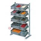 Konfigurieren Sie Ihr Regal mm 1067 x 542/925 H 1817 für Stapelboxen