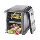 Thermobox aus EPP Gastronorm GN 1/1 Frontlader