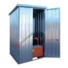 Gefahrstoffdepot aus verzinkt Stahl 1750 x 1945 x 2730 mm